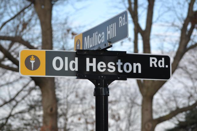 The attack happened along Old Heston Road, near the Triad Apartments